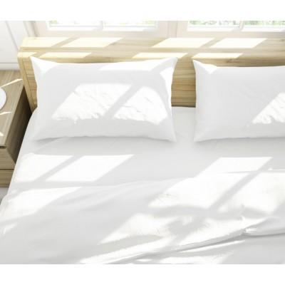 Σεντόνι Ξενοδοχείου Laura 80% cotton 20% polyester 160tc percalle 160x260εκ.