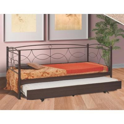 Ν48 Καναπές κρεβάτι 100x200εκ. με συρόμενο κρεβάτι