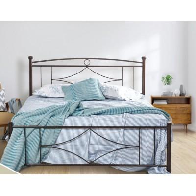 N17 Κρεβάτι μεταλλικό διπλό 160x210εκ. ( για στρώμα 150x200εκ.)