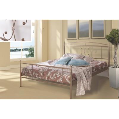 N24B Κρεβάτι μεταλλικό μονό 100x200εκ. ( για στρώμα 90x190εκ.)