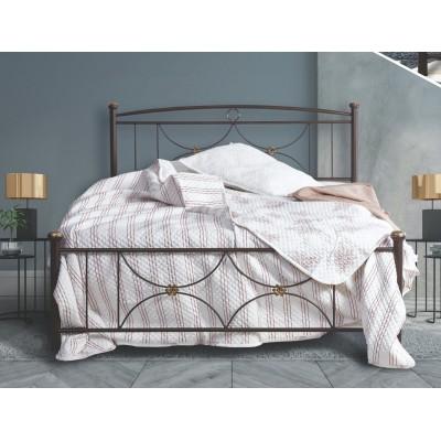 N26 Κρεβάτι μεταλλικό μονό 100x200εκ. ( για στρώμα 90x190εκ.)