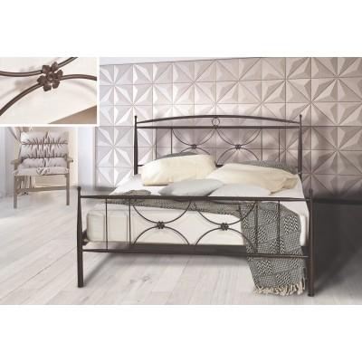 N26B Κρεβάτι μεταλλικό μονό 100x200εκ. ( για στρώμα 90x190εκ.)