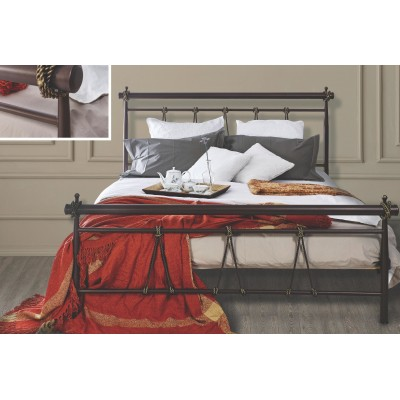 N34 Κρεβάτι μεταλλικό μονό 100x200εκ. ( για στρώμα 90x190εκ.)