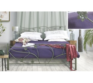 N38 Κρεβάτι μεταλλικό διπλό 170x210εκ. ( για στρώμα 160x200εκ.)