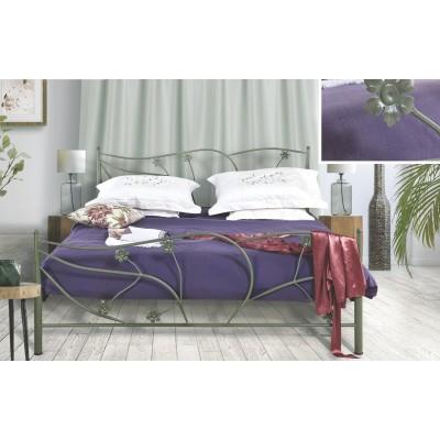N38 Κρεβάτι μεταλλικό μονό 100x200εκ. ( για στρώμα 90x190εκ.)
