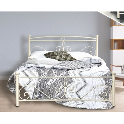 N39 Κρεβάτι μεταλλικό μονό 100x200εκ. ( για στρώμα 90x190εκ.)