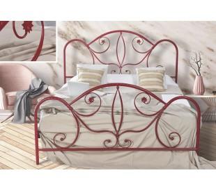 N51 Κρεβάτι μεταλλικό διπλό 170x210εκ. ( για στρώμα 160x200εκ.)