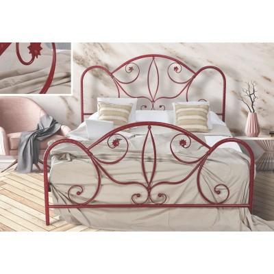 N51 Κρεβάτι μεταλλικό διπλό 160x210εκ. ( για στρώμα 150x200εκ.)
