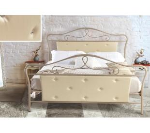 N52 Κρεβάτι μεταλλικό διπλό 170x210εκ. ( για στρώμα 160x200εκ.)
