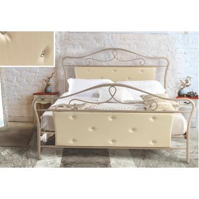 N52 Κρεβάτι μεταλλικό διπλό 160x210εκ. ( για στρώμα 150x200εκ.)