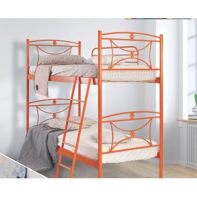 N11 Κουκέτα με δύο μονά κρεβάτια 100x200