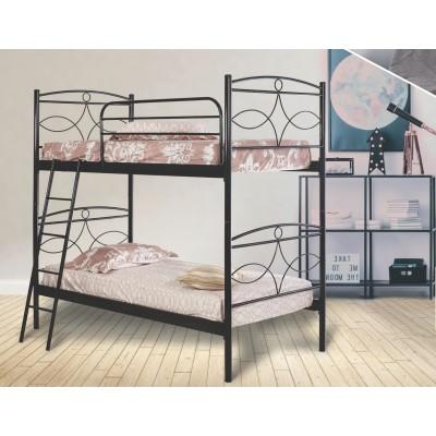 N15 Κουκέτα με δύο μονά κρεβάτια 100x200