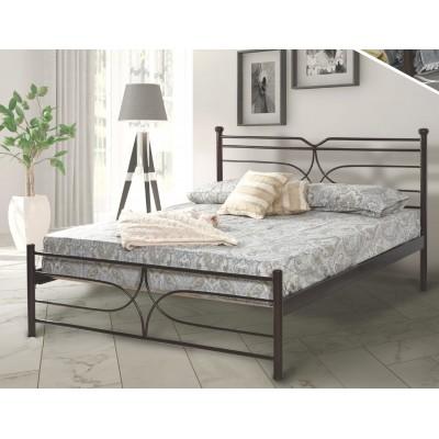 N10 Κρεβάτι μεταλλικό μονό 100x200εκ. ( για στρώμα 90x190εκ.)