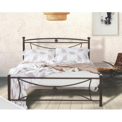 N11 Κρεβάτι μεταλλικό διπλό 160x210εκ. ( για στρώμα 150x200εκ.)