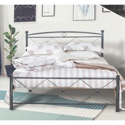N12 Κρεβάτι μεταλλικό διπλό 160x210εκ. ( για στρώμα 150x200εκ.)