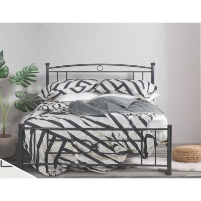 N13 Κρεβάτι μεταλλικό διπλό 160x210εκ. ( για στρώμα 150x200εκ.)