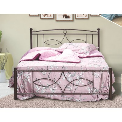 N15 Κρεβάτι μεταλλικό διπλό 160x210εκ. ( για στρώμα 150x200εκ.)