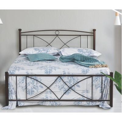 N16 Κρεβάτι μεταλλικό μονό 100x200εκ. ( για στρώμα 90x190εκ.)