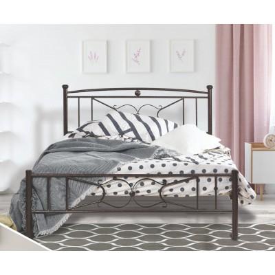 N18 Κρεβάτι μεταλλικό διπλό 160x210εκ. ( για στρώμα 150x200εκ.)