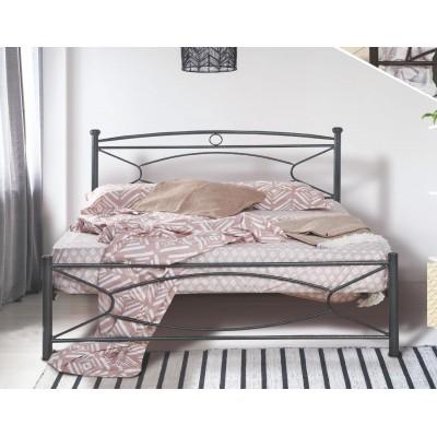 N19 Κρεβάτι μεταλλικό διπλό 160x210εκ. ( για στρώμα 150x200εκ.)