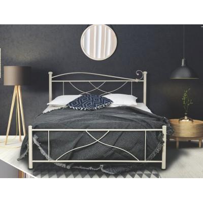 N21B Κρεβάτι μεταλλικό διπλό 160x210εκ. ( για στρώμα 150x200εκ.)