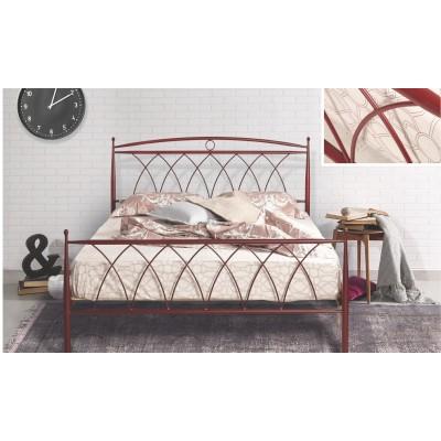 N23B Κρεβάτι μεταλλικό μονό 100x200εκ. ( για στρώμα 90x190εκ.)