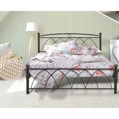 N23 Κρεβάτι μεταλλικό μονό 100x200εκ. ( για στρώμα 90x190εκ.)