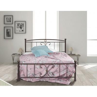 N24 Κρεβάτι μεταλλικό μονό 100x200εκ. ( για στρώμα 90x190εκ.)