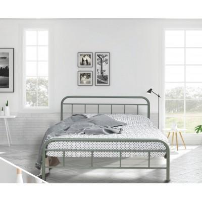 N27 Κρεβάτι μεταλλικό μονό 100x200εκ. ( για στρώμα 90x190εκ.)