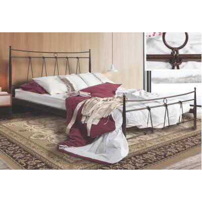 N31 Κρεβάτι μεταλλικό μονό 100x200εκ. ( για στρώμα 90x190εκ.)
