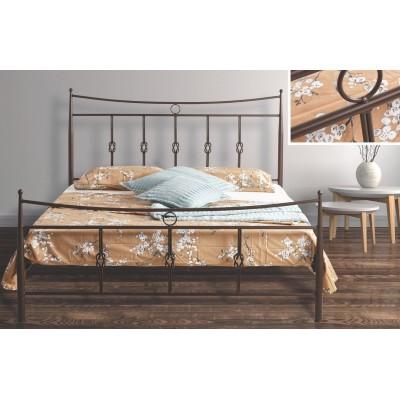 N32 Κρεβάτι μεταλλικό μονό 100x200εκ. ( για στρώμα 90x190εκ.)
