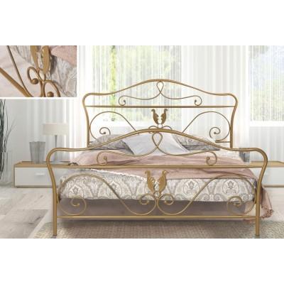 N58 Κρεβάτι μεταλλικό διπλό 160x210εκ. ( για στρώμα 150x200εκ.)