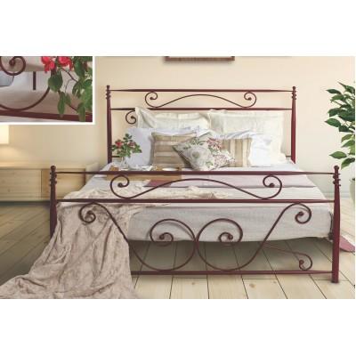 N59 Κρεβάτι μεταλλικό διπλό 160x210εκ. ( για στρώμα 150x200εκ.)