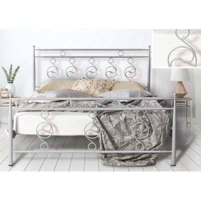 N66 Κρεβάτι μεταλλικό μονό 100x200εκ. ( για στρώμα 90x190εκ.)