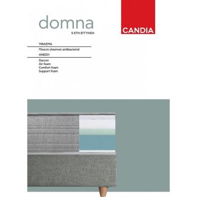 Domna10 Στρώμα Candia 90x190εκ.