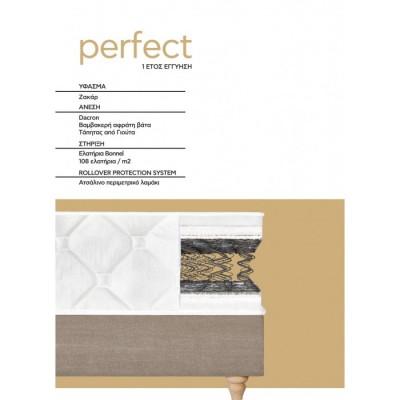 Perfect Candia Στρώμα διπλό 150x200εκ.