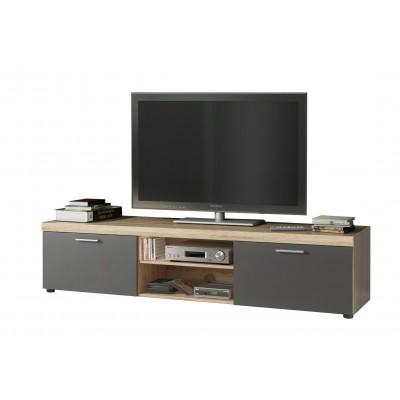 Novel Έπιπλο τηλεόρασης 168x40x35εκ. Sonoma/Anthracite