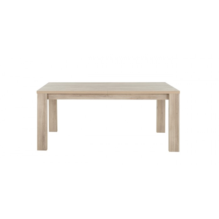 Aston Τραπέζι τραπεζαρίας επεκτεινόμενο 180/228x90εκ.Light Kronberg Oak/Λευκή Λάκα  ΤΡΑΠΕΖΙΑ ΞΥΛΙΝΑ-ΜΕΤΑΛΛΙΚΑ-ΓΥΑΛΙΝΑ, insidehome.gr