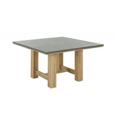 Broceliande Τραπέζι τετράγωνο 140x140εκ. Grandson Oak - Concrete