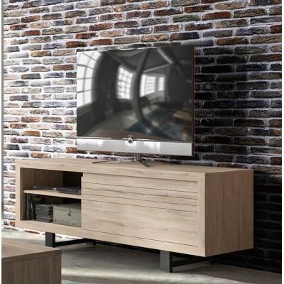 Clay Έπιπλο τηλεόρασης 160x48x60εκ. Light Kronberg Oak
