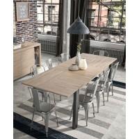 Clay Τραπέζι επεκτεινόμενο 180/237x90x76εκ. Light Kronberg Oak