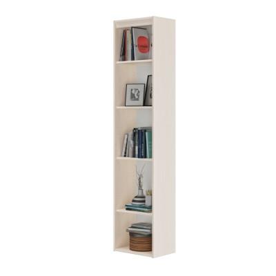 Essentiel Βιβλιοθήκη στενή με 4 ράφια 44x30x197εκ. Whitewashed Oak