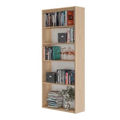 Essentiel Βιβλιοθήκη με 4 ράφια 85x30x197εκ. Natural Chestnut