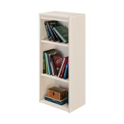 Essentiel Βιβλιοθήκη στενή με 2 ράφια 44x30x102εκ. Whitewashed Oak