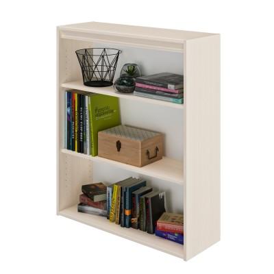 Essentiel Βιβλιοθήκη με 2 ράφια 85x30x102εκ. Whitewashed Oak