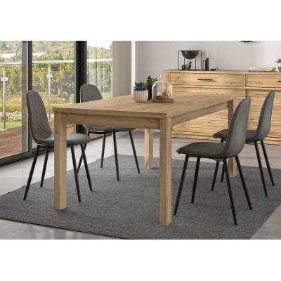 Estran Τραπέζι τραπεζαρίας επεκτεινόμενο 183/240x90εκ. Artisan Oak