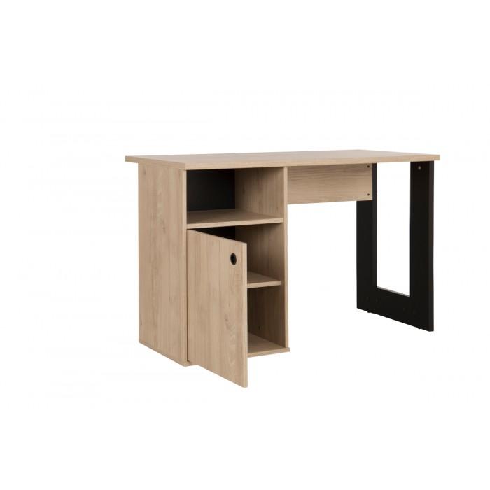 Duplex Γραφείο 120x56x75εκ. Black/Natural  , insidehome.gr