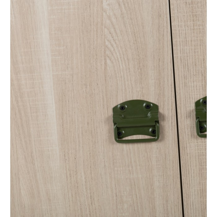 Indiana Ντουλάπα με 2 πόρτες και 1 συρτάρι 94x54x181εκ. Ανοιχτό Δρυς  ΝΤΟΥΛΑΠΕΣ, insidehome.gr