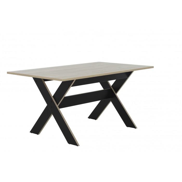 Medoc τραπέζι 160x90εκ.  ΤΡΑΠΕΖΙΑ ΞΥΛΙΝΑ-ΜΕΤΑΛΛΙΚΑ-ΓΥΑΛΙΝΑ, insidehome.gr