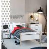 Kylian Κρεβάτι 130x207εκ. ( για στρώμα 120x200εκ. ) Λευκό / Sonoma ΠΑΙΔΙΚΑ ΚΡΕΒΑΤΙΑ , insidehome.gr